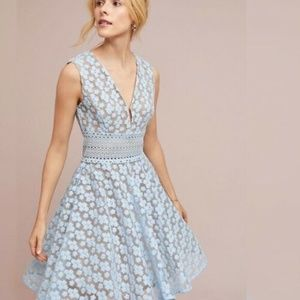 NWT NEW Anthropologie AMSONIA LACE DRESS
